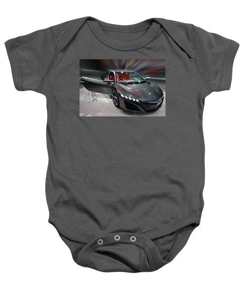Acura Nsx Concept 2013 Baby Onesie