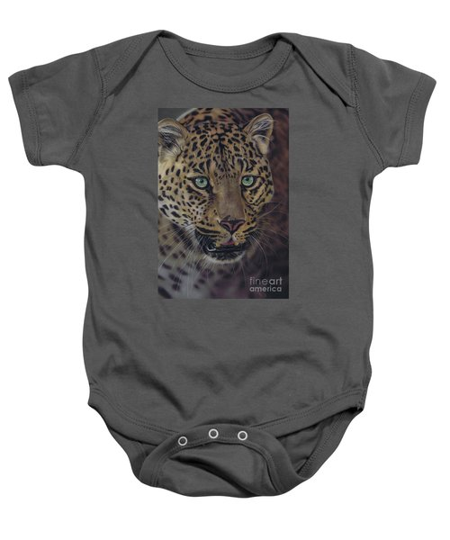After Dark All Cats Are Leopards Baby Onesie