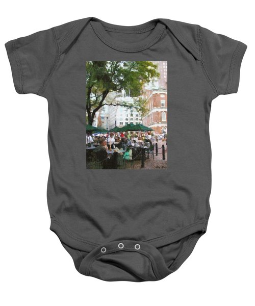Afternoon At Faneuil Hall Baby Onesie