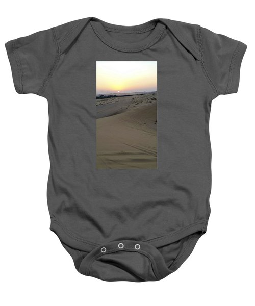 Al Ain Desert 8 Baby Onesie