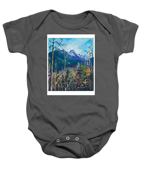 Alaska Autumn Baby Onesie