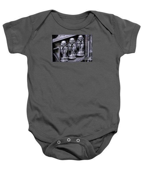 Alien Elton Baby Onesie by Timothy Hacker