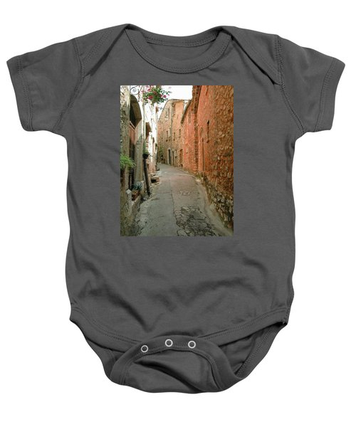 Alley In Tourrette-sur-loup Baby Onesie