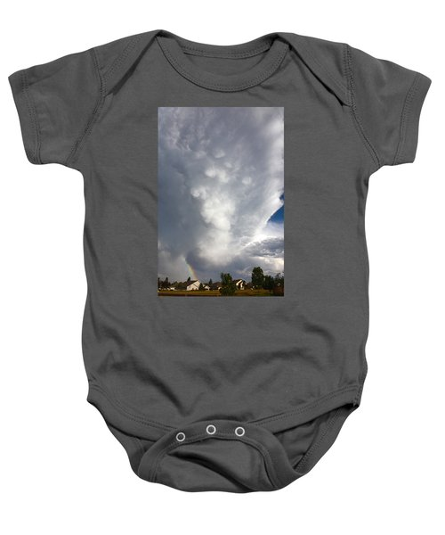 Amazing Storm Clouds Baby Onesie