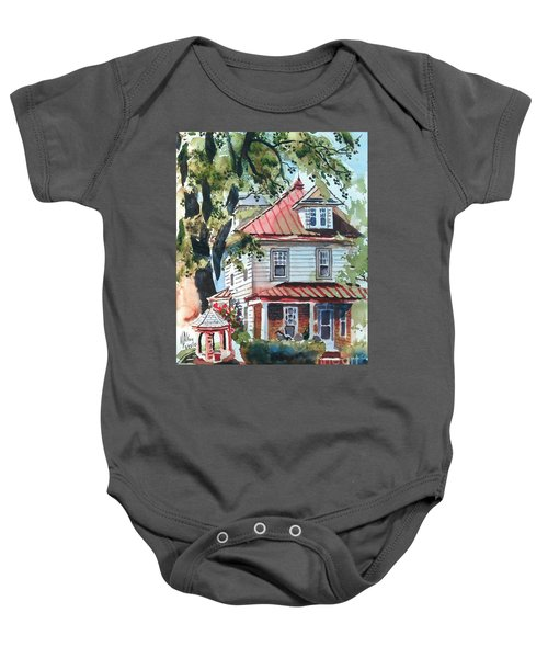 American Home With Children's Gazebo Baby Onesie