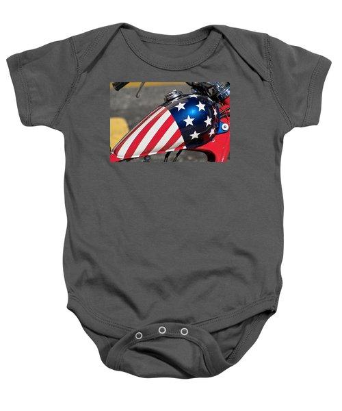American Motorcycle Baby Onesie