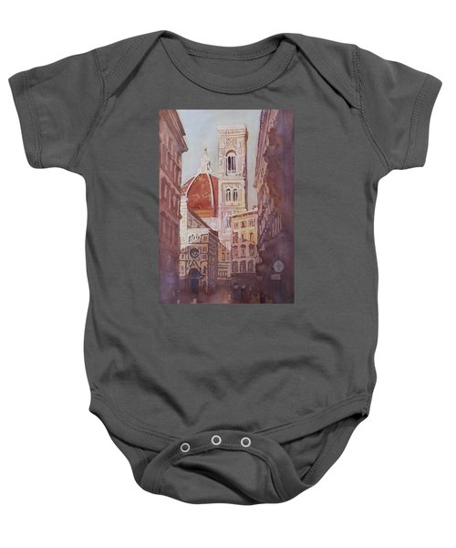 And Suddenly The Duomo Baby Onesie