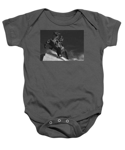Andrew Jackson   Baby Onesie