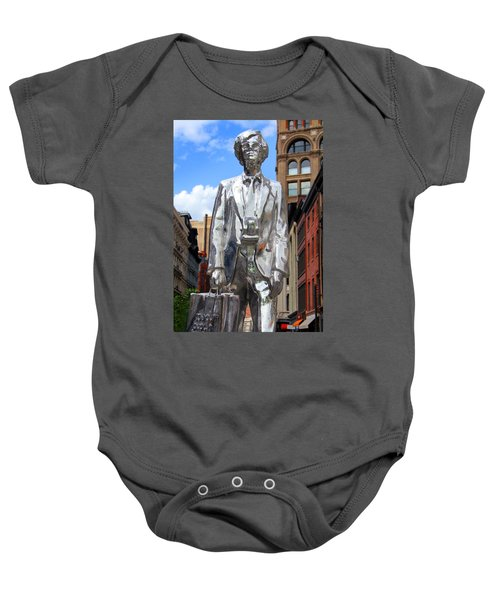 Andy Warhol Baby Onesie by Mark Ashkenazi