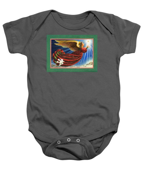 Angel Of The Star Baby Onesie