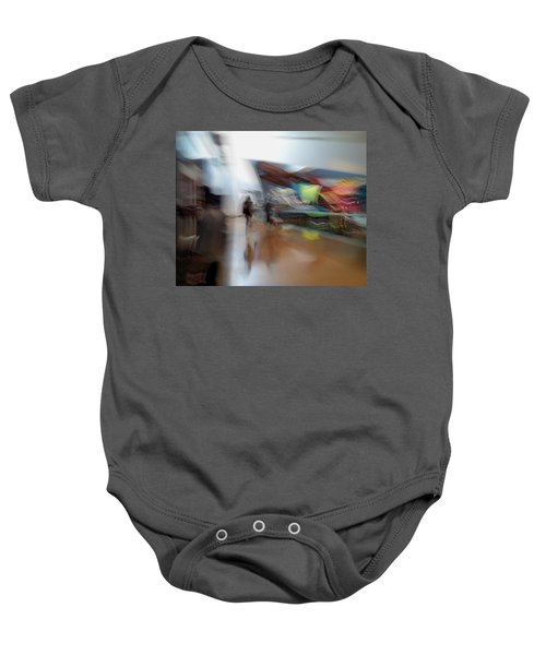 Baby Onesie featuring the photograph Angularity by Alex Lapidus