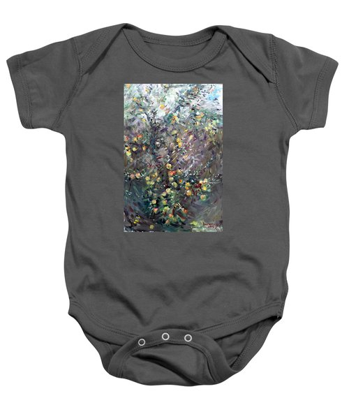 Apple Tree  Baby Onesie