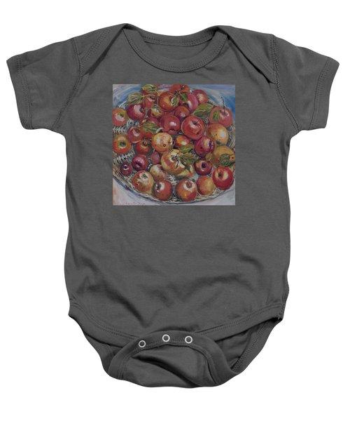Apples Baby Onesie
