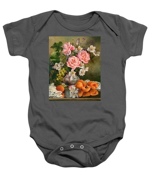 Apricot Party Baby Onesie