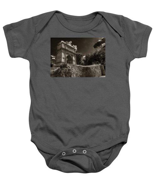 Arch Of Titus Baby Onesie