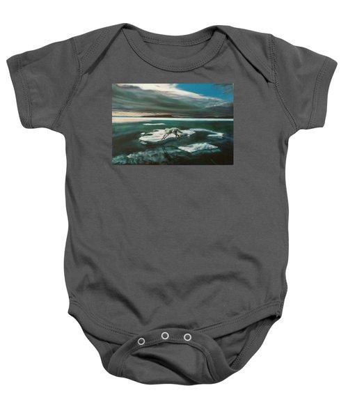 Arctic Wolf Baby Onesie