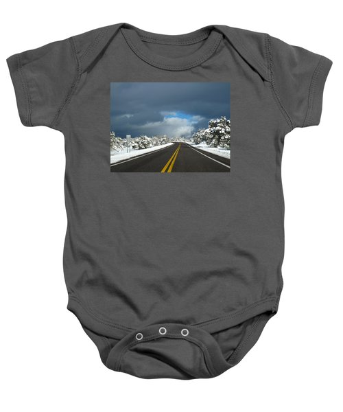 Arizona Snow 1 Baby Onesie