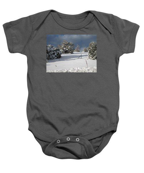 Arizona Snow 3 Baby Onesie