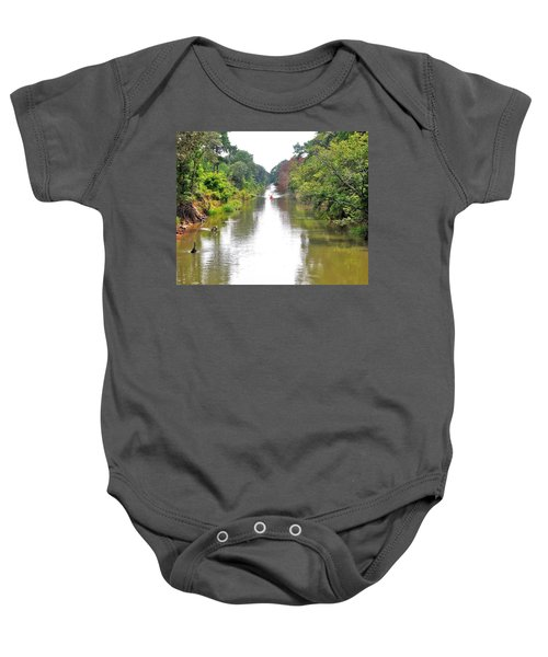 Assawoman Canal - Delaware Baby Onesie