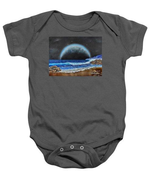 Astronomical Ocean Baby Onesie