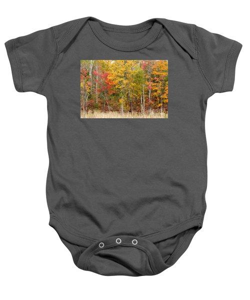 Autumn In Muskoka Baby Onesie