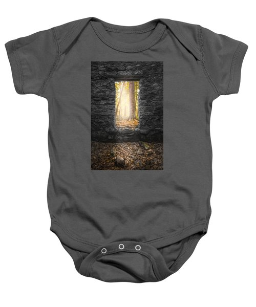 Autumn Within Long Pond Ironworks - Historical Ruins Baby Onesie