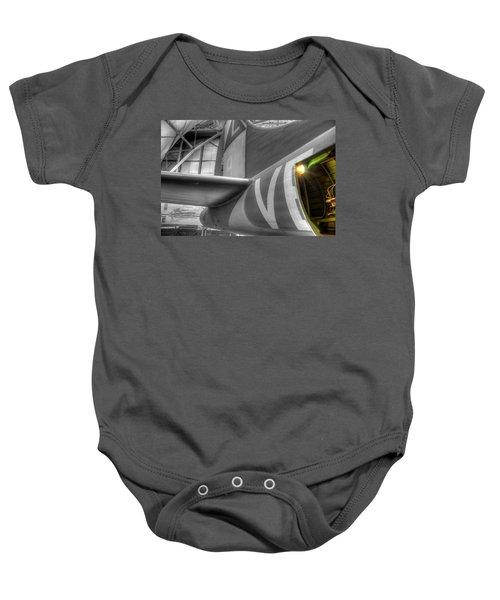 B-17 Bomber Tail Baby Onesie