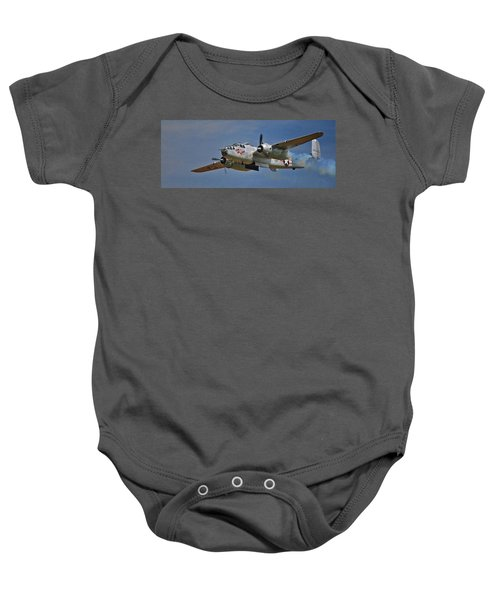 B-25 Take-off Time 3748 Baby Onesie