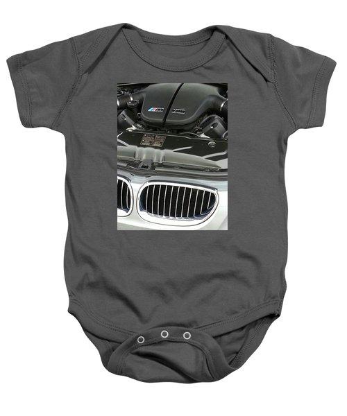B M W M5 V10 Motor Baby Onesie
