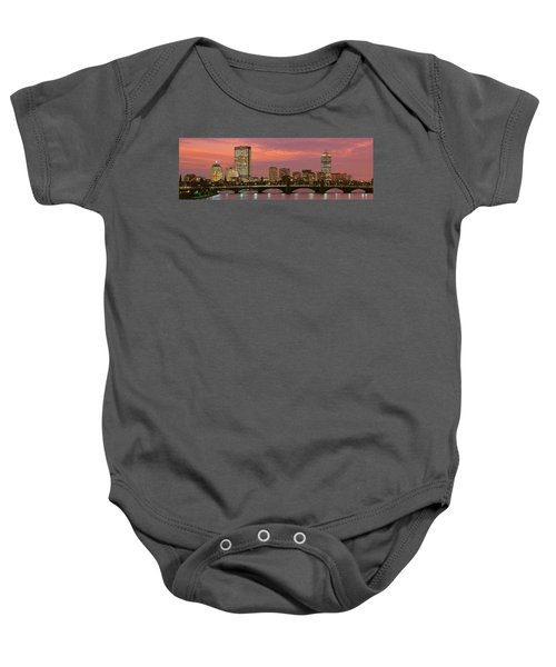 Back Bay, Boston, Massachusetts, Usa Baby Onesie