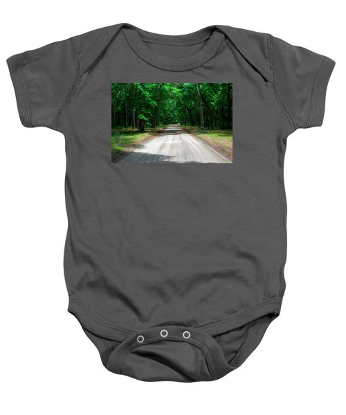 Back Roads Of South Carolina Baby Onesie