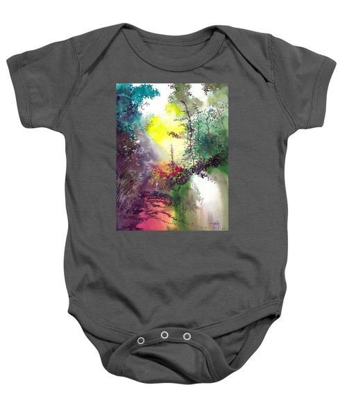 Back To Jungle Baby Onesie