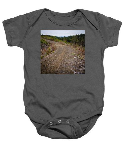 4x4 Logging Road To Adventure Baby Onesie