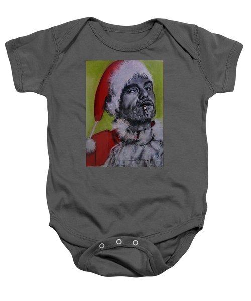 Bad Santa Baby Onesie