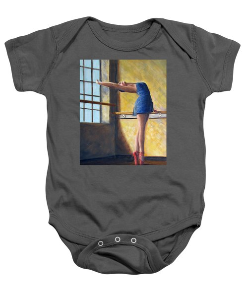 Ballet Dancer Warm Up Baby Onesie
