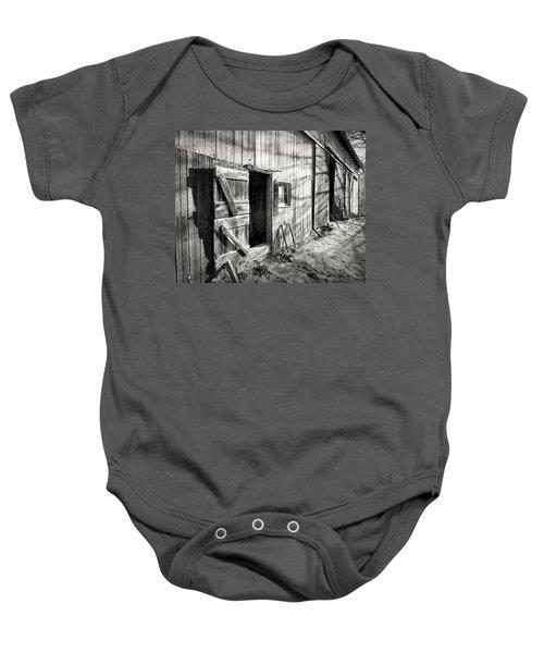 Barn Doors Baby Onesie