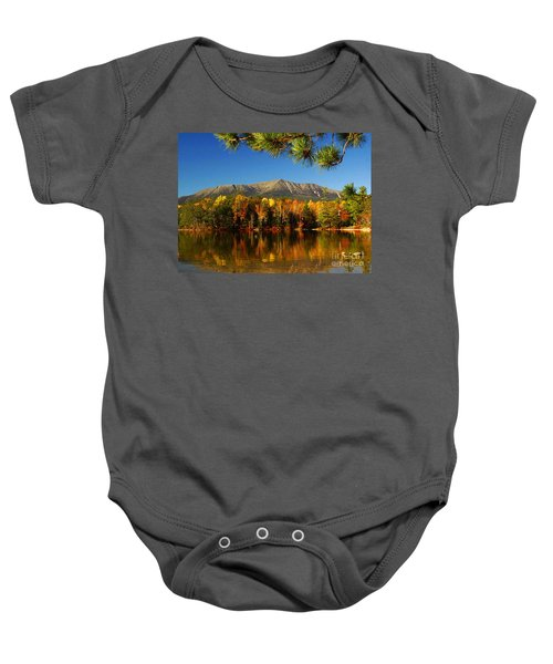 Baxter Fall Reflections  Baby Onesie