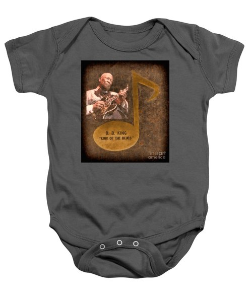 Bb King Note Baby Onesie