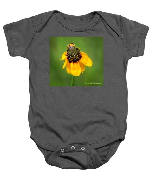 Bee My Coneflower Baby Onesie