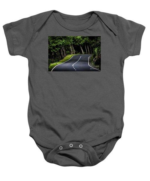 Big  Road Baby Onesie