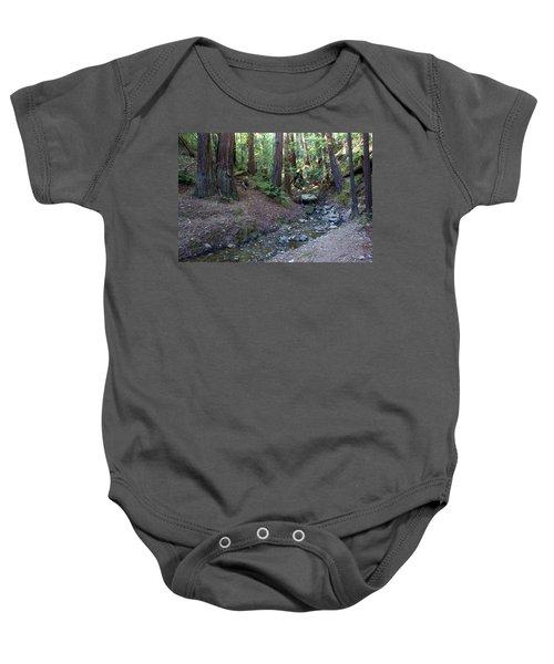 Bigfoot On Mt. Tamalpais Baby Onesie