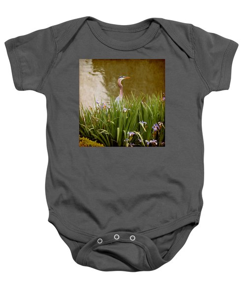 Bird In The Water Baby Onesie