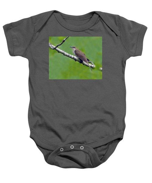 Black-billed Cuckoo Baby Onesie