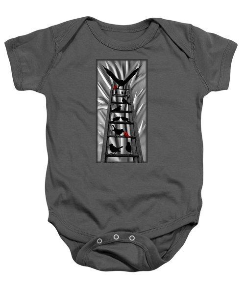 Blackbird Ladder Baby Onesie