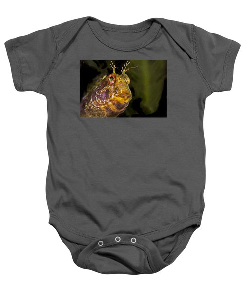 Blenny In Deep Thought Baby Onesie