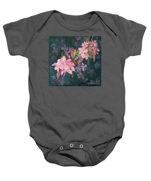 Blossoms For Sally Baby Onesie