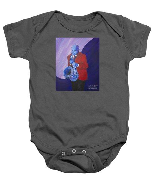 Blue Note Baby Onesie