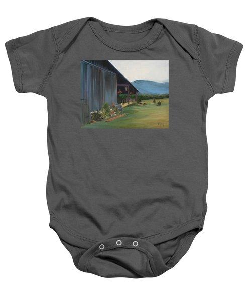 Blue Ridge Vineyard Baby Onesie