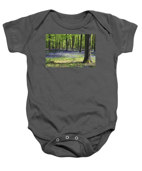 Bluebell Wood Uk Baby Onesie
