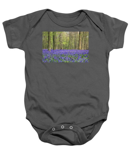 Bluebells Surrey England Uk Baby Onesie